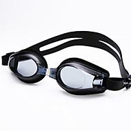 billiga Swim Goggles-Simglasögon Simglasögon Kiselgel Svart