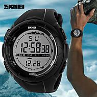 billige Kjoleur-Herre Digital Digital Watch Armbåndsur Smartur Sportsur Kinesisk Kalender Vandafvisende Stor urskive Silikone Bånd Vedhæng Kreativ Unikke