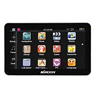Kkmoon 7 portátil hd tela gps navegador 128 MB ram 4gb rom mp3 fm video play bluetooth carro sistema de entretenimento com apoio de volta