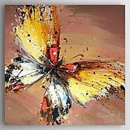 baratos -Pintura a Óleo Pintados à mão - Paisagem Abstracto Tela de pintura