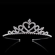 Kristal / Strass / Legering tiaras / hikinauhat / Hoofddeksels met Bloemen 1pc Bruiloft / Speciale gelegenheden / Feest / Uitgaan Helm