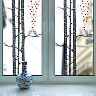 Raamsticker,PVC/Vinyl Materiaal raamdecoratie