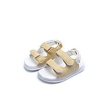 baratos Sapatos de Menino-Para Meninos Sapatos Couro Ecológico Verão Conforto Sandálias LED para Preto / Amarelo / Verde
