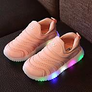 女の子 靴 レザー チュール 春 夏 秋 ライトアップシューズ スニーカー ウォーキング LED 用途 カジュアル ホワイト ライトグリーン ピンク