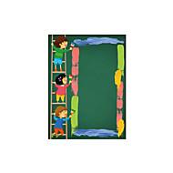 Piirretty Muoti Ihmiset Wall Tarrat Lentokone-seinätarrat Liitutaulutarrat Koriste-seinätarrat,Vinyyli materiaali Kodinsisustus Seinätarra