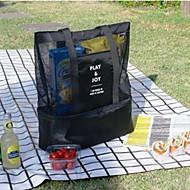 Bolsa de Viagem Picnic Bag Organizador de Mala Portátil Térmico/Quente Isolado Dobrável para Roupas Náilon /