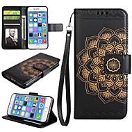 アップルiphone 7 7 plus iphone 6s 6 plus case for iphone 5s 5 seのマンダラパターンpuレザーケース