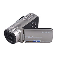 cheap Security & Safety-Andoer® HDV-312P 1080P Full HD Digital Video Camera Portable Home-use DV with 2.7 Inch Rotating LCD Screen Max. 20 Mega Pixels 16 Digital Zoom