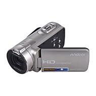 billige Overvåkningskameraer-Andoer® hdv-312p 1080p full HD digitalt videokamera bærbart hjemmebruk dv med 2,7 tommers roterende LCD-skjerm maks