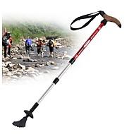 4 Sekcje Kijki trekkingowe Kijki Nordic Walking Kijki wielofunkcyjne 110cm (43 cale) Tłumienie Regulowana długość Łatwy system zamykania Wolfram Ze stopu aluminium 7075 Narciarstwo Kemping i