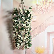 billige Kunstige blomster-1 Gren Plastikk Lilla Bordblomst Kunstige blomster
