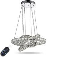 Lustre led iluminação indoor moderno dimmable teto pingente luzes lustres lâmpada luminárias com controle remoto