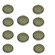 10pcs 3W 500lm GU10 LED bodovky 48 LED korálky SMD 2835 Ozdobné Teplá bílá Chladná bílá 12V