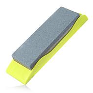 1pc kjøkkenkniv sharpener husholdning naturlig whetstone farge tilfeldig