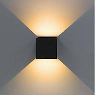 1pcs 2x5w dimmable moderno breve cubo ajustável superfície montado levou lâmpadas de parede exterior à prova d'água ip68 alumínio para