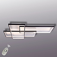 Modern LED Ceiling Light Flush Mount Wall Light Alumilium Painting with Remoter Dimmer for Living Room Bed Room