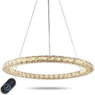 billige Takbelysning og vifter-Lysekroner Omgivelseslys - Krystall Justerbar Mulighet for demping Dimbar med fjernkontroll, Kunstnerisk Natur-inspireret LED Chic &