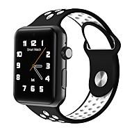 tanie Inteligentne zegarki-Inteligentny zegarek na iOS / Android Długi czas czuwania / Odbieranie bez użycia rąk / Kamera / aparat / Śledzenie odległości / Krokomierze Czasomierz / Krokomierz / Powiadamianie o połączeniu