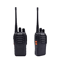 2pcs walkie talkie baofeng bf-888s 16ch uhf 400-470mhz baofeng 888s skin radio hf transceiver amador bærbar