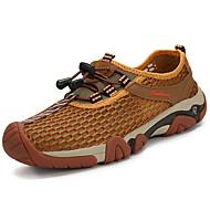 お買い得  ハイキングシューズ-男性用 靴 チュール 夏 コンフォートシューズ アスレチック・シューズ ハイキング 編み上げ のために アウトドア グレー Brown アーミーグリーン ネービーブルー
