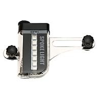 Benzi de lumină LED LED Ciclism Portabil Ușor AAA Lumeni Baterie Schimbare - Culoare Ciclism