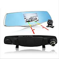 D860 1080p / Full HD 1920 x 1080 Auto DVR 170 stupnjeva Široki kut 4.3 inch Dash Cam s G-Sensor / Mod za parkiranje / Detekcija pokreta