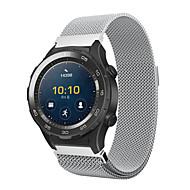 billiga Smart klocka Tillbehör-Klockarmband för Huawei Watch 2 Huawei Milanesisk loop Rostfritt stål Handledsrem