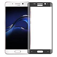 billiga Mobiltelefoner Skärmskydd-Skärmskydd Huawei för Mate 9 Pro Härdat Glas 1 st Heltäckande displayskydd Reptålig 2,5 D böjd kant