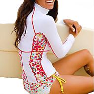SBART 女性用 ラッシュガード UVサンプロテクション, SPF50, 速乾性 ナイロン 長袖 ビーチウェア ラッシュガード / トップス サーフィン / 潜水