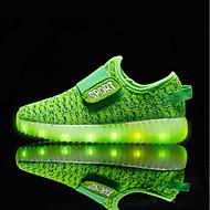 Mädchen Schuhe Atmungsaktive Mesh Frühling Herbst Leuchtende LED-Schuhe Sportschuhe für Normal Orange Gelb Grün Blau Rosa