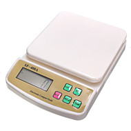 sf400a achterlicht elektronische hoge precisie huishouden keuken schaal 0.1g (Engels (7kg / 1g)