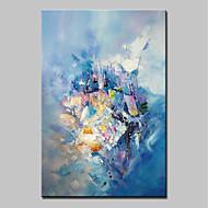voordelige -Hang-geschilderd olieverfschilderij Handgeschilderde - Abstract Abstract Modern Kangas