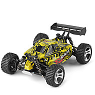 RC Car WL Toys 18401 2.4G 4WD High Speed Drift Car Off Road Car Buggy (terenski) 1:18 Četka Electric 22 Km / h Daljinsko upravljanje Može