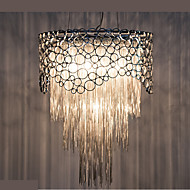 Droplight Of Contemporary And Contracted Restaurant Bedroom Lamp Personality Married The American Sweet Romance Circular Chain Tassel Of Lamps And Lan
