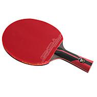 6スター Ping Pang/卓球ラケット Ping Pang カーボンファイバー ロングハンドル にきび 1 ラケット 1 卓球バッグ