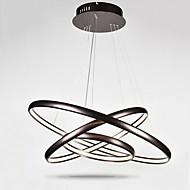 baratos -Lustre dimmable levou iluminação indoor moderno teto luzes pingente lustres luminárias com controle remoto