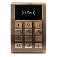 abordables -Métal étanche id contrôle d'accès contrôle d'accès lecteur de carte carte de crédit contrôle d'accès contrôleur rétro-éclairage bouton