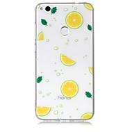 billiga Mobil cases & Skärmskydd-fodral Till Huawei / Huawei P8 Lite Genomskinlig / Mönster Skal Frukt Mjukt TPU för P10 Lite / P10 / P8 Lite (2017)