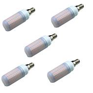 billige Bi-pin lamper med LED-5W E14 LED-lamper med G-sokkel T 180 leds SMD 2835 Dekorativ Varm hvit Kjølig hvit 700lm 3000-7000K AC220V