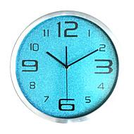 מודרני / עכשווי אגבי משפחה שעון קיר,עגול זכוכית בבית/ בטבע בבית טבע שָׁעוֹן