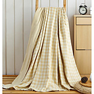 cheap Blankets & Throws-Flannel Lattice 100% Cotton Blankets