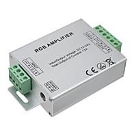 Hkv® 1pcs led rgb forstærker 12a led controller dc 12-24v for led strip lys