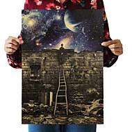 Wand-Dekor Retro Wandkunst