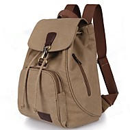 cheap Bags-Women's Bags Canvas Backpack for Outdoor / Traveling Blue / Black / Coffee