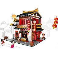 XINGBAO Blocos de Construir Brinquedos Arquitetura Chinesa Peças Unisexo Dom