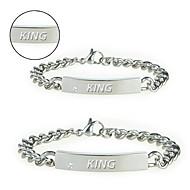 Jewelry wholesale couple Bracelet lovers gifts gift must streamline anti allergy titanium bracelet lovers