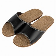 cheap Men's Slippers & Flip-Flops-Men's Shoes Synthetic Summer / Fall Comfort Slippers & Flip-Flops Black / Light Brown / Dark Brown