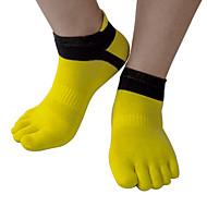 billige -Tå Sokker Unisex Anti-glide Åndbarhed Strækkende Letvægt for Løb Udendørs Indendørs