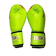 Boxhandschuhe für das Training für Boxen Vollfinger warm halten Atmungsaktiv Schützend Leder