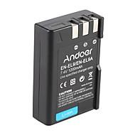 andoer en-el9 en-el9a újratölthető lítium-ion akkumulátor 7.4v 1200mah a nikon d3x d40x d40 d60 d3000 d5000 dslr kamerás videokamerához